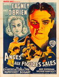 "Movie Posters:Crime, Angels with Dirty Faces (Warner Brothers, 1938). French Grande (47""X 63"").. ..."
