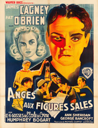 """Angels with Dirty Faces (Warner Brothers, 1938). French Grande (47"""" X 63"""")"""