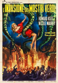 "Movie Posters:Science Fiction, The Day of the Triffids (Rank, 1963). Italian 4 - Foglio (54.75"" X77.25"").. ..."