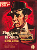 "Movie Posters:Drama, The Harder They Fall (Columbia, 1956). French Grande (46"" X 60"")....."