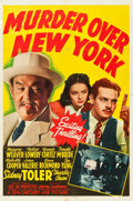 "Movie Posters:Mystery, Murder Over New York (20th Century Fox, 1940). One Sheet (27"" X41"").. ..."