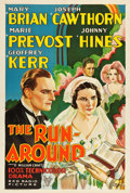 "Movie Posters:Drama, The Run-Around (RKO, 1931). One Sheet (27.5"" X 41"").. ..."