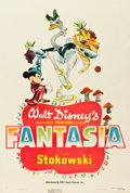 "Movie Posters:Animation, Fantasia (RKO, 1940). One Sheet (27"" X 41"") Style A.. ..."