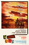 "Movie Posters:Western, The Searchers (Warner Brothers, 1956). One Sheet (27"" X 41"").. ..."