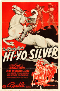 "Hi-Yo Silver (Republic, 1940). One Sheet (27"" X 41"")"