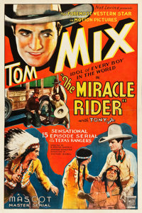 """The Miracle Rider (Mascot, 1935). Stock One Sheet (27"""" X 41"""")"""