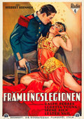 "Movie Posters:Adventure, Beau Ideal (RKO, 1931). Swedish One Sheet (28"" X 39.25"").. ..."