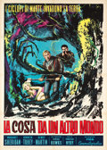 "Movie Posters:Science Fiction, The Thing from Another World (Fida Cinematographia, R-1961).Italian 2 - Foglio (39.5"" X 55"").. ..."