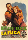 "Movie Posters:Film Noir, Dark Passage (Warner Brothers, 1948). Italian 2 - Foglio (39.25"" X55.5"").. ..."