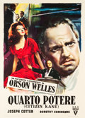 "Movie Posters:Drama, Citizen Kane (RKO, 1948). First Release Italian 2 - Foglio (39"" X55"").. ..."
