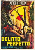 "Movie Posters:Hitchcock, Dial M for Murder (Warner Brothers, R-1960s). Italian 2 - Foglio(39.5"" X 55"").. ..."