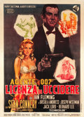 "Movie Posters:James Bond, Dr. No (United Artists, 1962). Italian 2 - Foglio (39"" X 55"").. ..."