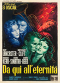 "Movie Posters:Academy Award Winners, From Here to Eternity (Columbia, R-1959). Italian 2 - Foglio (39"" X55"").. ..."