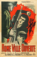 """Movie Posters:Foreign, Open City (Francinex, 1946). French Affiche (30.5"""" X 46"""").. ..."""