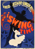 "Movie Posters:Musical, Swing Time (RKO, 1936). Danish Poster (24.5"" X 33.5"").. ..."