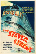 "Movie Posters:Action, The Silver Streak (RKO, 1934). One Sheet (27"" X 41"").. ..."