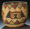 American Indian Art:Baskets, A HOPI BUNDLE COILED BASKET. c. 1940 ...