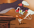 Animation Art:Model Sheet, Puss Gets the Boot Tom and Jerry Limited Edition Cel Set-UpSigned by Bill Hanna and Joe Barbera 2/100 (MGM/Hanna-Barb...