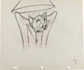 Animation Art:Production Drawing, Zoot Cat Tom and Jerry Production Drawings (MGM, 1944)....(Total: 2 )