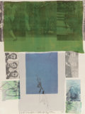 Fine Art - Work on Paper:Print, ROBERT RAUSCHENBERG (American, 1925-2008). Shoot From the MainStem (from Suite of 9 Prints), 1979. Screenprint in color...