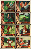 """Movie Posters:Science Fiction, Day the World Ended (American Releasing Corp., 1956). Lobby CardSet of 8 (11"""" X 14"""").. ... (Total: 8 Items)"""