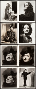 "Movie Posters:Miscellaneous, Norma Shearer by Hurrell & Bull (MGM, 1930s). Portrait Photos(8) (8"" X 10"").. ... (Total: 8 Items)"