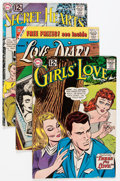 Silver Age (1956-1969):Romance, Silver Age Romance Group (Various Publishers, 1955-63) Condition:Average VG.... (Total: 22 Comic Books)
