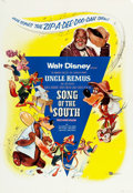"""Movie Posters:Animation, Song of the South (Buena Vista, R-1956). One Sheet (27"""" X 39"""") & Insert (14"""" X 36"""").. ... (Total: 2 Items)"""