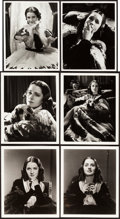 "Movie Posters:Miscellaneous, Norma Shearer by Hurrell & Bull (MGM, 1930s). Portrait Photos(10) (7.75"" X 9.75"" & 8"" X 10"").. ... (Total: 10 Items)"