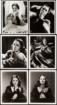 """Norma Shearer by Hurrell & Bull (MGM, 1930s). Portrait Photos (10) (7.75"""" X 9.75"""" & 8"""" X 10""""..."""