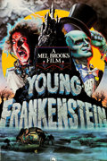 "Movie Posters:Comedy, Young Frankenstein (20th Century Fox, 1974). Signed Special Poster(34.5"" X 49"").. ..."