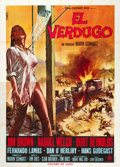 "Movie Posters:Western, 100 Rifles (20th Century Fox, 1969). Italian 4 - Foglio (55"" X 79"").. ..."