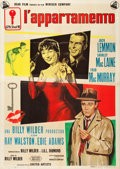 "Movie Posters:Comedy, The Apartment (United Artists, 1960). Italian 4 - Foglio (55"" X77"") Style A.. ..."