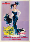 "Movie Posters:Comedy, Beautiful But Dangerous (G.E.S.I. Cinematografica, 1955). Italian 4- Foglio (55"" X 79"").. ..."