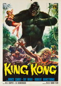 "Movie Posters:Horror, King Kong (RKO, R-1966). Italian 2 - Foglio (39"" X 55"").. ..."