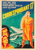 "Movie Posters:Hitchcock, Foreign Correspondent (Kleberfilm, 1948). First Post War ReleaseFrench Grande (46.5"" X 63"").. ..."