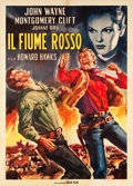 "Movie Posters:Western, Red River (Gold Film, R-1963). Italian 2 - Foglio (39.5"" X 55"")....."