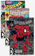 Modern Age (1980-Present):Superhero, Spider-Man Group (Marvel, 1990-94) Condition: Average NM....(Total: 75 Comic Books)