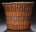American Indian Art:Baskets, A HOPI POLYCHROME TWINED BASKET...