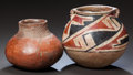 American Indian Art:Pottery, TWO CASAS GRANDE POTTERY JARS... (Total: 2 Items)