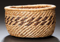 American Indian Art:Baskets, A HUALAPI TWINED BOWL. c. 1940. ...