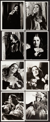 """Norma Shearer by George Hurrell (MGM, 1930s). Portrait Photos (8) (7.5"""" X 9.5"""" & 8"""" X 10"""")..."""