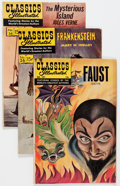 Silver Age (1956-1969):Classics Illustrated, Classics Illustrated Group (Gilberton, 1950s-60s) Condition:Average GD.... (Total: 27 Comic Books)