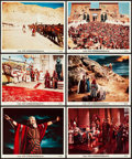 "Movie Posters:Drama, The Ten Commandments (Paramount, 1956). Color Photos (23) (8"" X 10"").. ... (Total: 23 Items)"