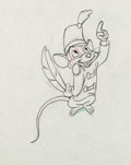 Animation Art:Production Drawing, Dumbo Timothy Mouse Production Drawings Group (Walt Disney,1941).... (Total: 2 Items)