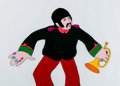 Animation Art:Production Cel, Beatles Yellow Submarine Ringo Starr Production Cel (UnitedArtists/King Features, 1968)....