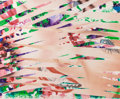 Prints:Contemporary, JAMES ROSENQUIST (American, b. 1933). Crosshatch andMutation, 1986. Monoprint with lithograph collage printed incolors...