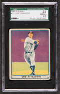 Baseball Cards:Singles (1940-1949), 1941 Play Ball Joe DiMaggio #71 SGC 35 Good+ 2.5...