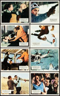 """Movie Posters:James Bond, On Her Majesty's Secret Service (United Artists, 1970). BritishFront of House Photo Set (8) (8"""" X 10"""").. ... (Total: 8 Items)"""