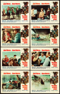 "Movie Posters:Western, The Sons of Katie Elder (Paramount, 1965). Lobby Card Set of 8 (11"" X 14"").. ... (Total: 8 Items)"